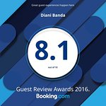 Check out our 2016 guest review award from @bookingcom. #guestsloveus