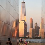 As seen from 9/11 memorial of Liberty State Park