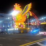 Year of Rooster celebration at the hotel intersection