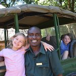Governor's Safari Camp and our incomparable driver guide, Dixon..