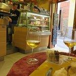 Inside the restaurant, Caffe Matteo