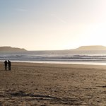 Rhossili/Llangennith looking out to Worm's Head