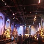 The main hall at hogwarts ;) lovely during christmas #WBTourLondon