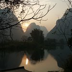 We took a bike ride along the Jade River in Yangshuo.