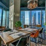 Новый панорамный ресторан в Москва-сити