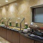 Full service Breakfast Buffet served daily in Emma's Restaurant