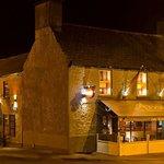 Avenue side Bar & Main Enterance to Restaurant