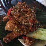 Heavenly sambal chicken