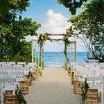 Sand Dune Wedding Ceremony