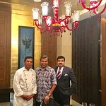 With Ex.Chef Jaffar Ali & Srinivas Lahori, General Manager