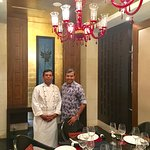 With Executive Chef Jaffar Ali