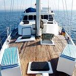 Get onboard M/S Encantada