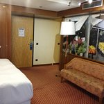 Superior room on the E-floor (1st floor where there are rooms)