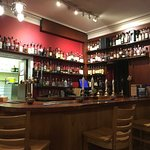 The well-stocked Malt Whisky & more Bar