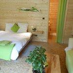 chambre double confort à 75€ lit 180 cm