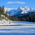 Gorgeous winter views down valley