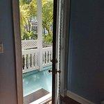 View from my bedroom door.