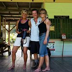My friend and me at the Sirena station in Corcovado. Our guide is with us in this picture.
