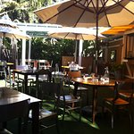 Beautifully shaded outdoor dining available!