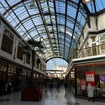 The Wayfarers Arcade. Pudding and Pie is at the end on the left of the picture.