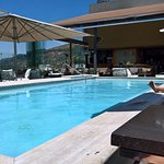 Roof top pool and bar/decking