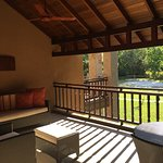 Senior suite balcony