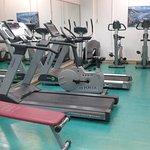 Cardio equipment in the fitness area