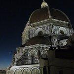 La cupola del Duomo dalla terrazza panoramica