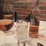Lovely wine at Valeria