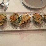 Delicious Oysters Rockefeller