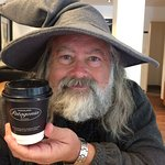Even Gandalf loves the chocolate!