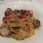Pappardelle w Scallops