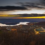 Steve Aaron Discovery the Long Path Photo Exhibit -- West Point Military Academy at dawn