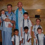 Our son's wedding with visitors from Canada, Aus. Scotland and Sri Lanka.