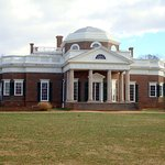 Back of Monticello