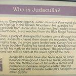 The Judaculla legend.