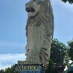 Sentosa Merlion Foto