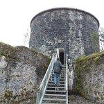 Martello tower at Gardens of Ilnacullin, Garnish Island, County Cork, Ireland