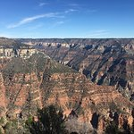 North Rim views from Bright Angel Trail.