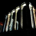 Roman Columns next to Pousada