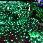 Tokyo German Village lights