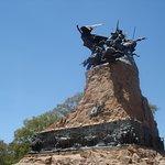 vista de perfil al monumento