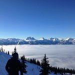 Valley inversion. Spectacular views