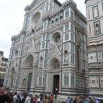 The facade of the Duomo of Florence