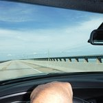 Up on the HIGH part of 7 mile bridge