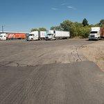 Largest Truck Parking in Spokane Valley