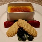 Creme Brulee - with hints of saffron, cardamon and ginger.