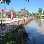 Fishing platform/boardwalk