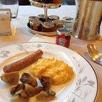朝食のビュッフェ二皿目