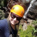 Waterfall Mid way Kaarkloof